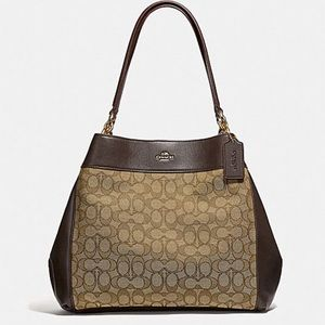 Coach Lexy Shoulder Bag In Signature Jacquard